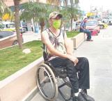 Piden prioridad a discapacitados