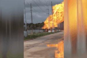 Explosión e incendio en complejo Pemex