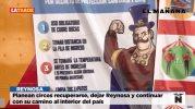 Planean circos recuperarse dejar Reynosa y continuar con su camino al interior del país