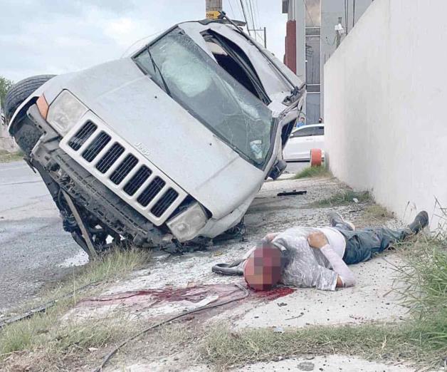 Muere conductor por un cerrón