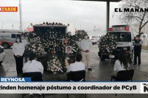Rinden homenaje póstumo a coordinador de PCyB