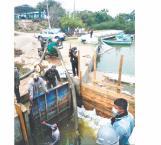 Reconocen falta de agua... y dinero para realizar obras
