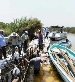 Alarma ecológica: filtra lagunas el agua del mar