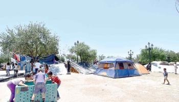 Se amontonan los migrantes