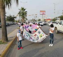 Marchan familiares de personas desaparecidas
