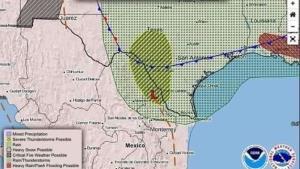 Emiten alerta por clima para sur de Texas y norte de Tamaulipas