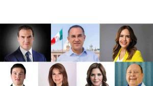 Debaten 7 candidatos a la gubernatura de NL
