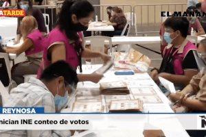 Inician INE conteo de votos