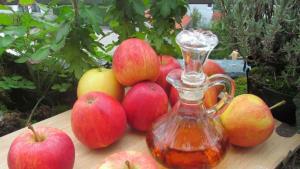 Beneficios y cómo preparar vinagre madre de manzana