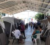 Esperan migrantes vacuna antiCovid