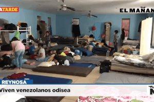 Viven venezolanos odisea
