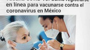 Próxima vacunación a mayores de 18 años