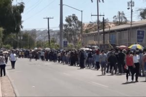 Inicia vacunación en frontera norte de México