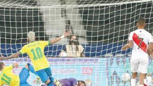 ¡Humilla Brasil a Perú!