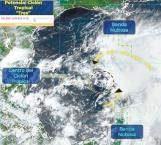 Monitorean fenómeno con potencial de ciclón