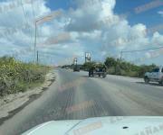 Sujetos armados agreden a balazos a militares en el ejido Corrales