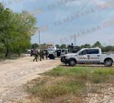 Pistoleros enfrentan a la GN en el ejido Corrales