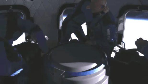 El viaje espacial de Jeff Bezos