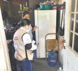 Censan viviendas afectadas por lluvia