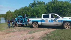 Intentan fraude con moto-bomba de Conagua... los descubren