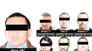 Arrestan a 7 por tráfico de personas
