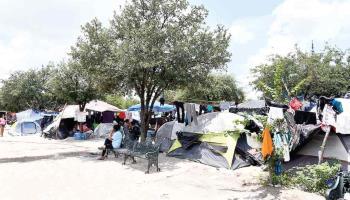 Invasión de migrantes