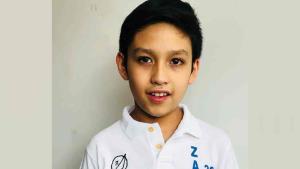 Rodrigo gana oro en matemáticas