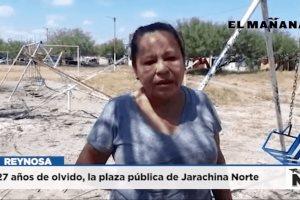 Olvidan plaza pública de Jarachina Norte