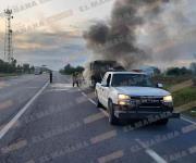 Se incendia autobús