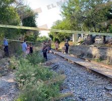 Fallece hombre arrollado por el tren