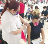 Vacunan en la Ribereña a más de 8 mil personas