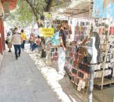 Desplome en ventas del comercio informal