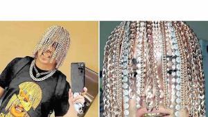 Rapero mexicano cambió su cabello por cadenas de oro puro