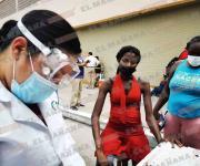 Avanzan 400 haitianos rumbo a la frontera con EU
