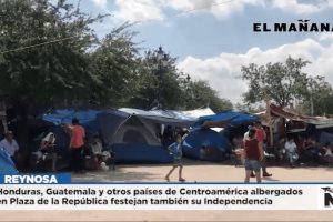 Países de Centroamérica albergados en Plaza de la República festejan también su Independencia