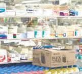 Reportan a la baja venta de medicinas