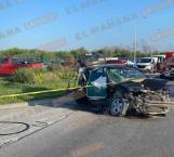 Copiloto fallece en choque; hay 4 heridos