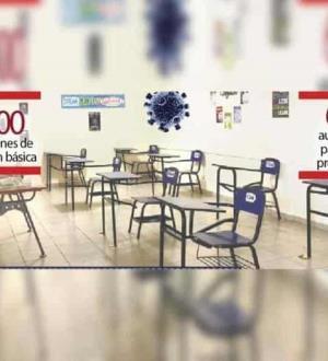 Frena Covid regreso presencial; en 21 días abren sólo 619 escuelas