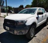 Recuperan policías camioneta robada