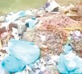 Dejan basura biológica en escuela secundaria