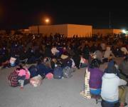 Dan positivo a Covid, 9 de los migrantes asegurados