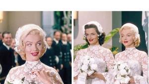 Actrices que usaron lujosos vestidos de novia en películas