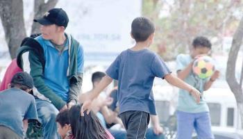 Reubicarán a los niños migrantes