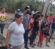 Buscan familias hacerse de un terreno