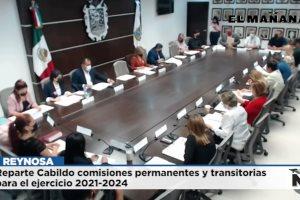 Reparte Cabildo comisiones permanentes y transitorias para el ejercicio 2021-2024