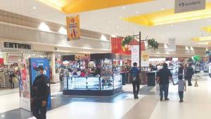 Hacen rondines en centros comerciales
