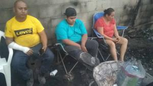 Quedan en la calle por incendio, claman apoyo