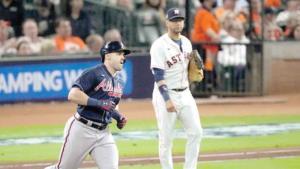 Abre Soler la Serie Mundial con jonrón y Bravos vence a los Astros