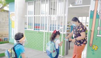 Piden limpieza para escuelas